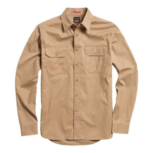 Triumph Motorcycles Combustion Worker Shirt – Sand