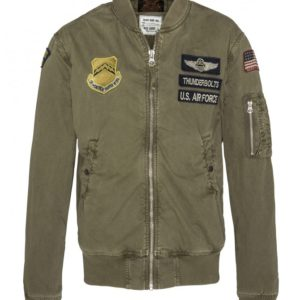Schott NYC bombers jacket man