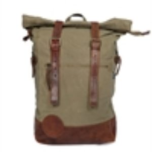 Iron & Resin  Mountain Bag lamb leather cotton canvas