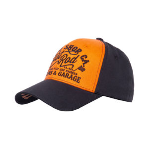 King Kerosin Hot Rod trucker cap black/orange