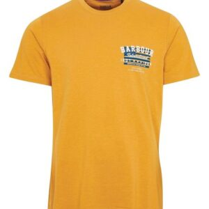 Barbour Reivers Tee Harvest Gold