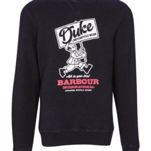 Barbour International Famous Duke Sweat-Black