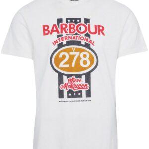 Barbour Chase Tee Whisper White
