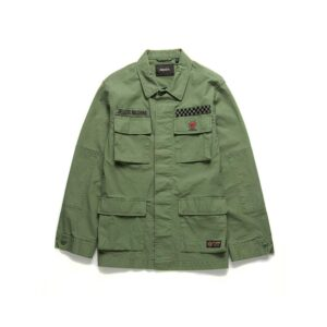 Deus Ripstop Jungle Shirt Clover