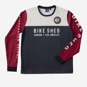 Bike Shed X Indian Motorcycle Race Jersey Tee